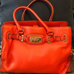 Michael Kors dark Orange purse